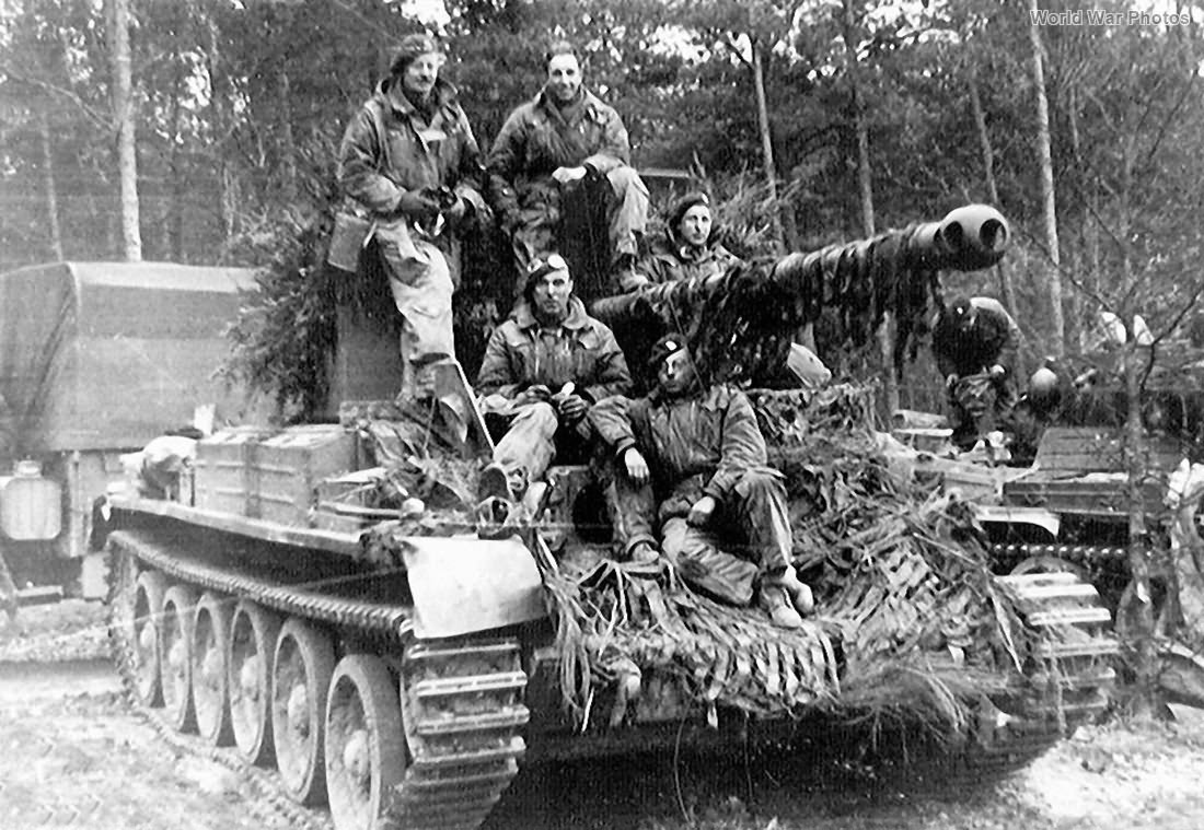 Challenger of 15th/19th The King's Royal Hussars 4 March 1945