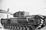 Captured British Churchill tank 2