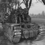 Churchill 11 arm div 24 mar45