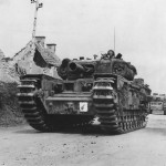 Churchill AVRE (Armoured Vehicle Royal Engineers) in France