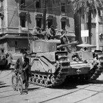 Churchill Mk III Victory Parade In Tunis, Tunisia, 12 05 1943