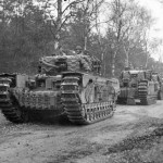 Churchill tanks 1944