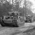 Churchill tanks 1944