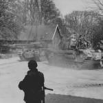 Churchill tanks near Hanover Germany 1945