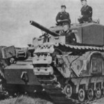 German Churchill tank 01