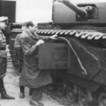 German Churchill tank 02