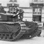 German Churchill tank of the Panzer-Kompanie 81