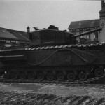 German Churchill tank 07