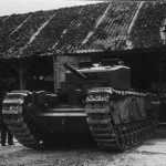 German Churchill tank 08