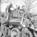 Comet 11th Armoured Division 13apr45