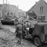 Comet 11th Armoured Division Germany 30mar45