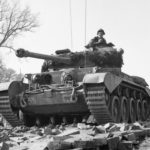 Comet 2nd Fife and Forfar Yeomanry Petershagen 7apr45