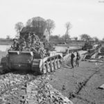 Comet 2nd Fife and Forfar Yeomanry Petershagen 7apr45 2