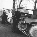 German tanks A13 Mk II (Cruiser Tank Mk IV)