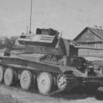 German tank A13 Mk II (Cruiser Tank Mk IV) #141