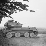A13 Cruiser Mk IV tank at Huppy France May 1940