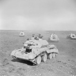 A13 Mk IIA tanks on exercise in Cyprus 1942
