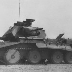 Abandoned tank A13 Mk IIa T15228 North Africa