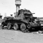A13 Mk I from HQ of the Squadron B, 3rd RTR, 1st Armoured Division