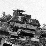 German tank A13 of Panzer Abteilung 100 (Flamm)