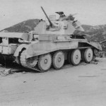 British Cruiser Tank A13 Mk II Africa