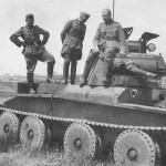 Abandoned Cruiser tank Mk III A13 Mk I