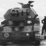 Tank A13 Mk II of 1st Armoured Division