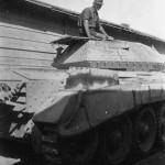 Captured Crusader I of Afrika Korps 21 Panzer Division