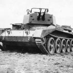 Crusader III AA Tank Armed with Twin 20 mm Oerlikon Guns