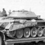 Crusader tank in german service DAK