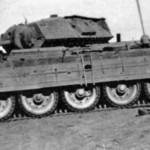 Crusader II tank in german service photo