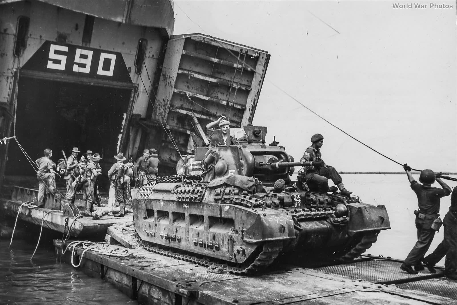 Matilda IV Tarakan May 1945