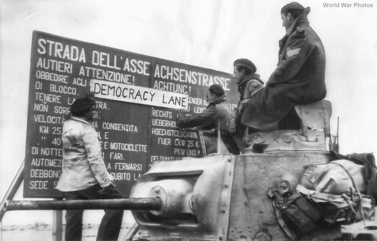 Matilda Tank Crew Changes Axis Highway Name