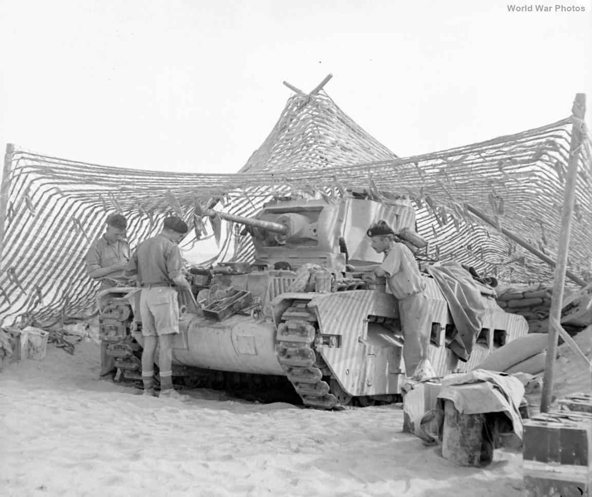 Matilda tank Tobruk 18 November 1941