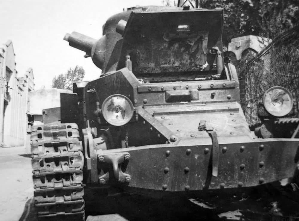 British infantry tank Matilda Mk I
