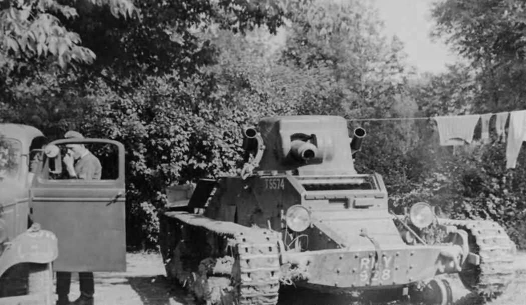Matilda Mk I A11 tank, T5574