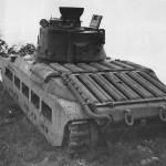 British Infantry Tank Mk II A12 Matilda II during demonstration 1941