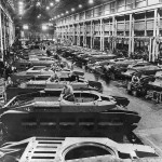 British Matilda Tank Assembly Line In Factory England 1941