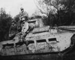 British infantry tank Matilda II 4