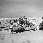 Captured Matilda tanks DAK Afrika Korps