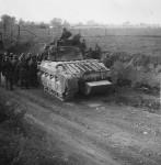 Matilda II tank named Grasshopper