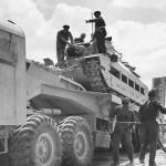 Matilda Tank Loaded for Transport North Africa Desert 1942
