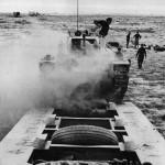 Transporter Brings in Matilda Tank for Repair from Middle East Desert 1942