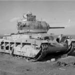 German Matilda A12 Mk II tank north africa