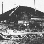 Matilda tank with german balkenkreuz