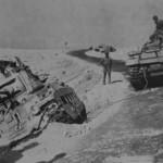 Matilda II tank in german service North Africa