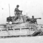German Infanterie Panzerkampfwagen Mk.II 748(e) Matilda II of the Afrika Korps