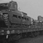 Infanterie Panzerkampfwagen Mk.II 748(e) Matilda II rail transport