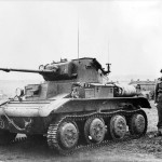 Light tank Mk VII Tetrarch Mk I with Little John adaptor