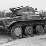 Light tank Mk VII Tetrarch T9277 rear